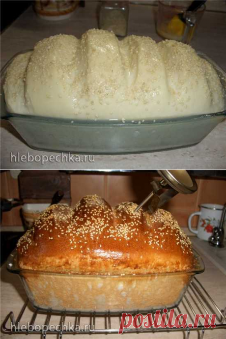 Колобок из пшеничной муки (мастер-класс) - ХЛЕБОПЕЧКА.РУ