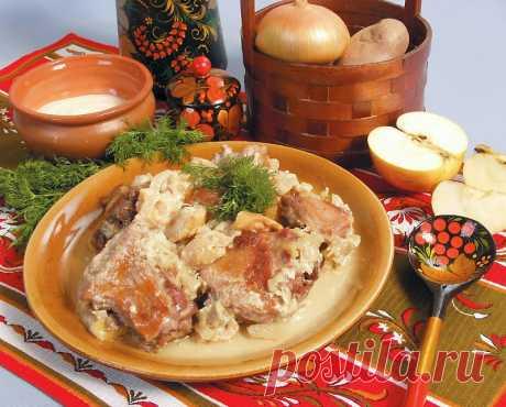 Тушеная утка в сметане — Sloosh – кулинарные рецепты