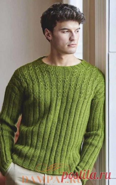 Мужской пуловер «Mortimer» | DAMские PALьчики. ru