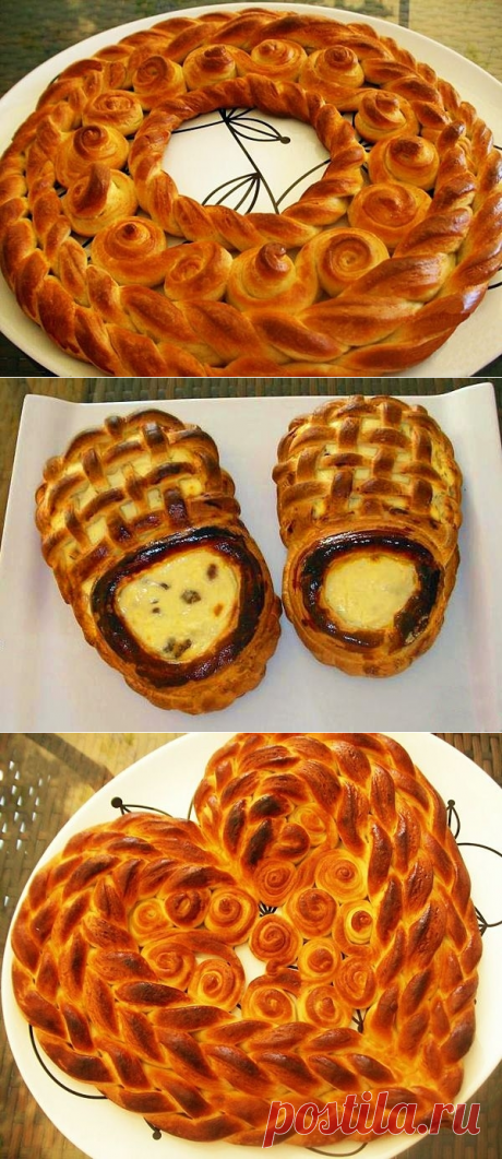 Красивые пироги из дрожжевого теста: печем с выдумкой - Ladiesvenue.ru