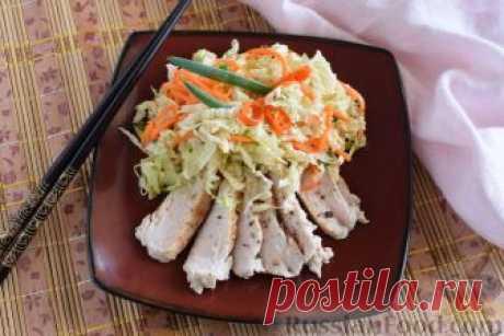 Салаты с куриной грудкой, только лучшие рецепты!