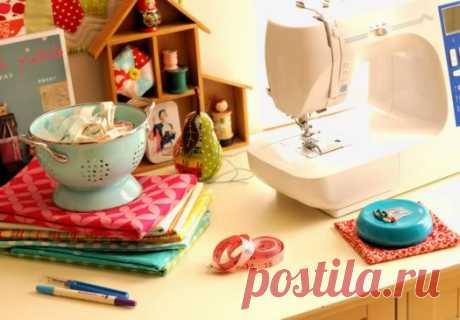 Советы по шитью на швейной машинке (Шитье и крой) | Журнал Вдохновение Рукодельницы