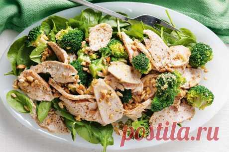 Белковые салаты для похудения. Рецепты лучших из простых продуктов с калорийностью, полезные советы. Фото