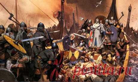 Викинги-христиане сражались с язычниками как настоящие берсерки. Норвегию крестили дважды, причем в обоих случаях дело кончилось тем, что ее крестители погибли в сражениях. Более известна эпопея конунга (короля) Олафа Святого, который почитается в масштабах всей Скандинавии.
