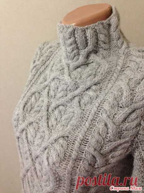 """Влюблённый Шекспир&quot sweater; from AKCASTUDIO of 30 photos - Knitting - the Country of Mothers"