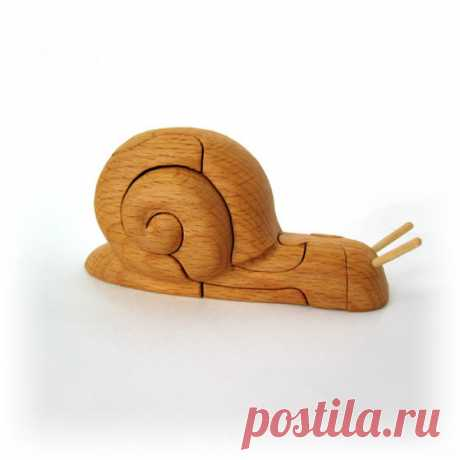 Ручная сборка. Деревянные 4D фигурки животных и другие игрушки из дерева - ZonaObzora