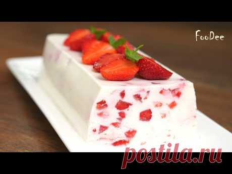Обалденный десерт за 10 минут БЕЗ выпечки! Нежный легкий десерт из творога и йогурта!
