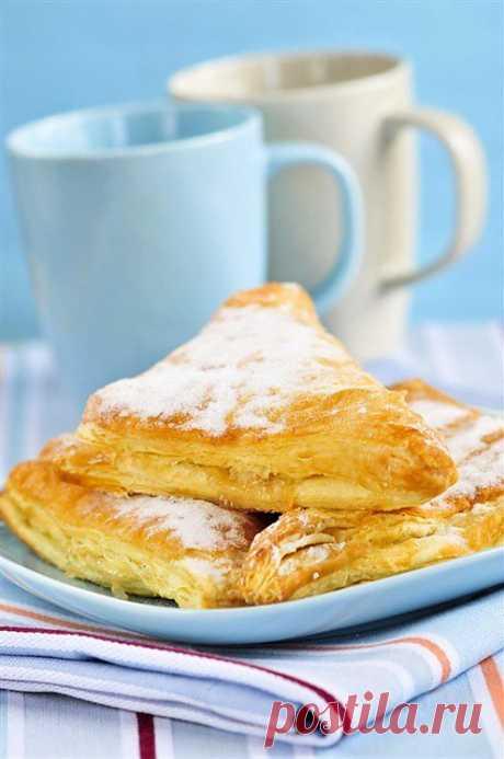 Яблоки в слойке рецепт – выпечка и десерты