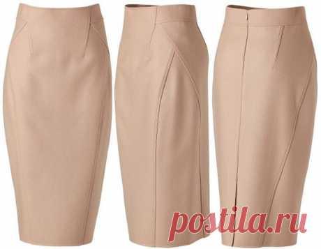 Моделирование и пошив юбки-карандаш от Donna Karan. МК .