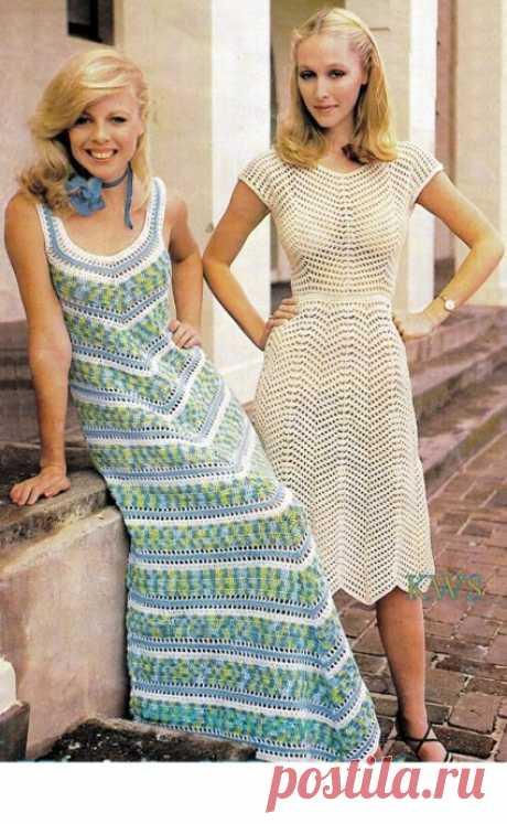 Женственные платья в винтажном стиле