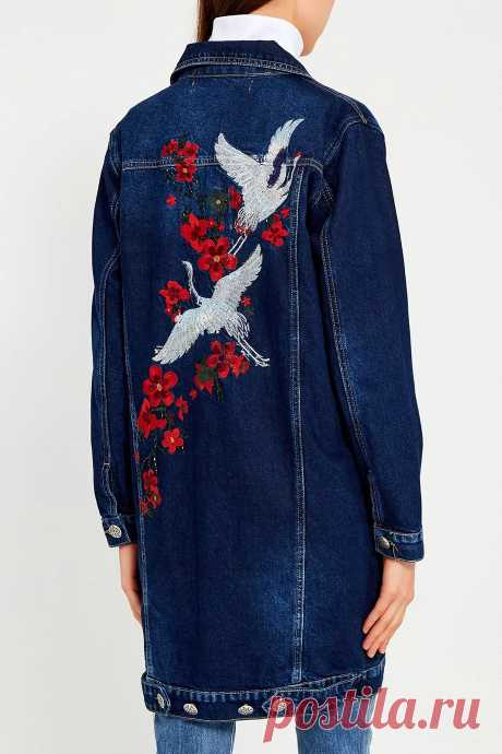 вышивка на джинсовой куртке: 4 тыс изображений найдено в Яндекс.Картинках