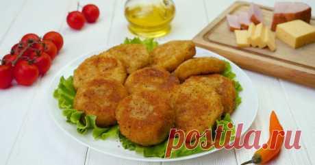 Картофельные зразы с ветчиной