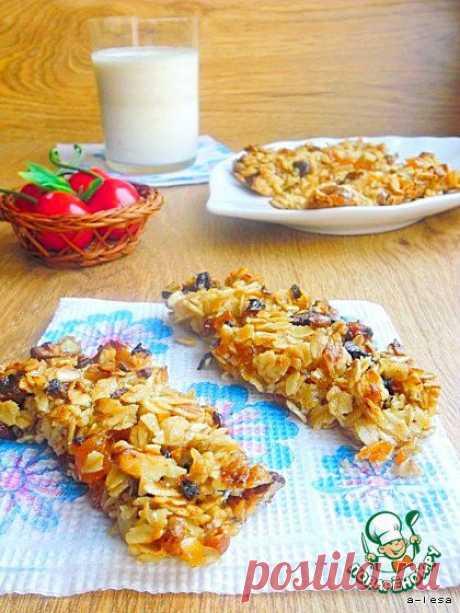 Granola bars - кулинарный рецепт
