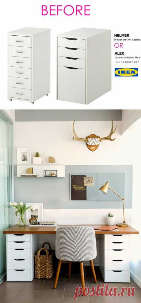20+ Smart and Gorgeous Ikea Hacks ( & Great Tutorials ) - A Piece Of Rainbow