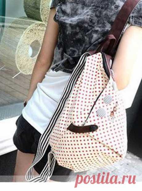 f28a30d9feb2 Выкройки и идеи простых сумок и рюкзаков / Сумки, клатчи, чемоданы / ВТОРАЯ  УЛИЦА