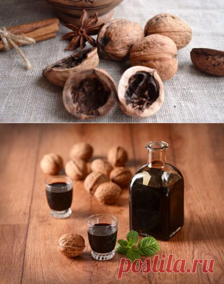 Настойка на скорлупе грецких орехов: на самогоне, на водке, на спирту, польза и вред