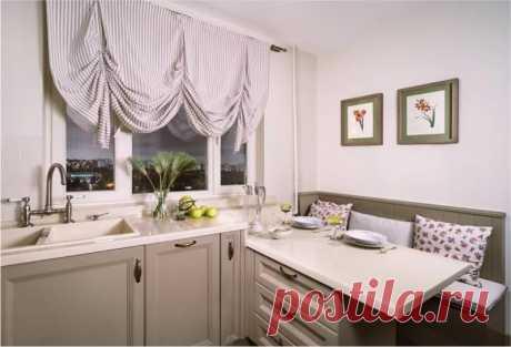 Подоконник-столешница на кухне — 4 варианта обустройства и 33 фото | Рекомендательная система Пульс Mail.ru