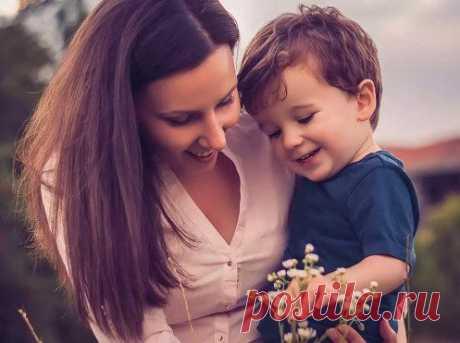 10 вещей, которым мама должна научить сына / Малютка