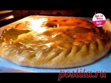 Пирог с мясом и картошкой. Как приготовить очень СОЧНЫЙ? Тесто БЕЗ дрожжей и соды| Еда на любой вкус