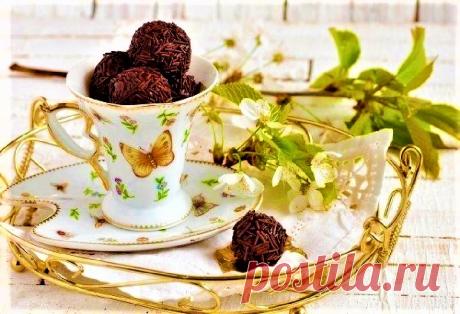 Как приготовить пошагово фото рецепт - Английские тоффи с чёрным шоколадом