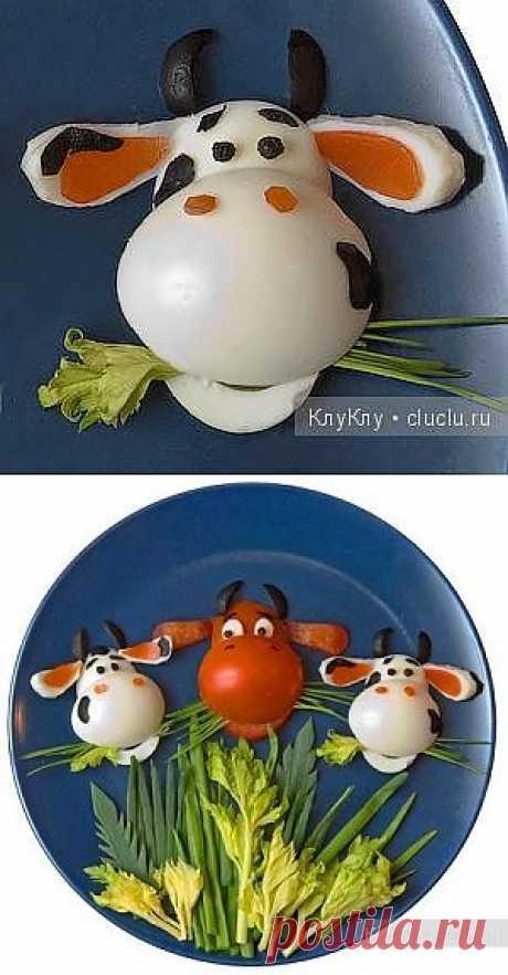 Забавные коровки