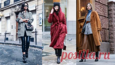 5 приемов, чтобы зимняя одежда стройнила | Офигенная