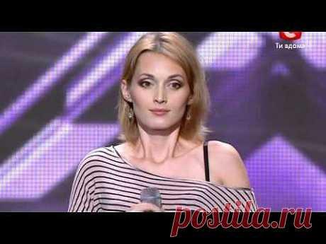 Аида Николайчук на Х-фактор-2 - Колыбельная