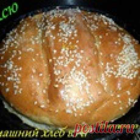 Хлеб в аэрогриле Кулинарный рецепт