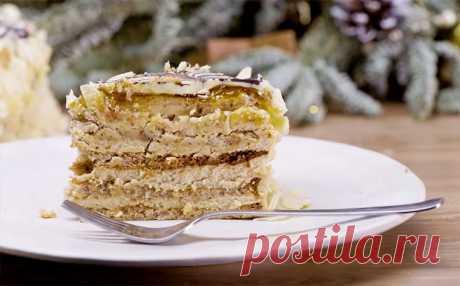Торт «Эстерхази»   Рецепты на SuperKuhen.ru