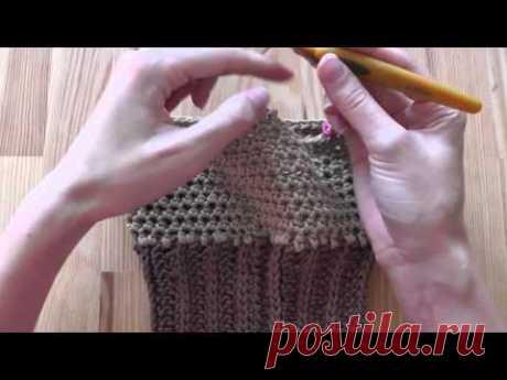 как связать крючком свитер собаки