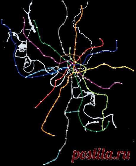 Карта метро Москвы — интерактивная схема московского метро