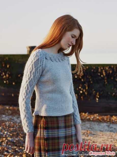 . Пуловер Dill - Вязание - Страна Мам