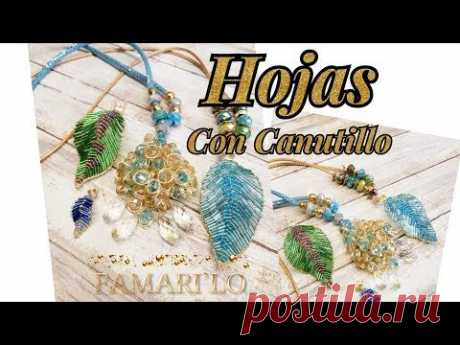 HOJA CON CANUTILLO (BISUTERIA)