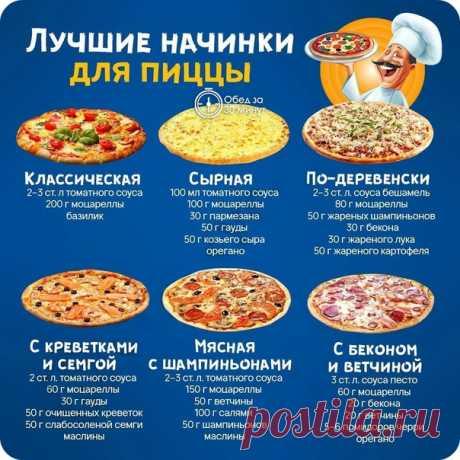 Шпаргалка для любителей пиццы!!!