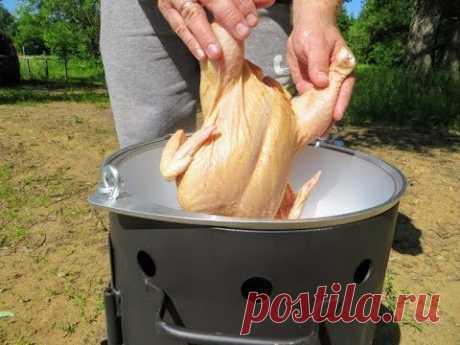 Выпросил рецепт у соседа! Казан кебаб с курицей - самый простой рецепт В КАЗАНЕ НА КОСТРЕ
