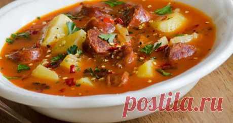 Супы с колбасой: 7 рецептов вашего обеда / Простые рецепты