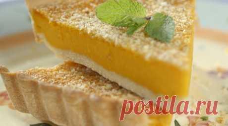Тыквенный пирог с ореховой крошкой! Самый лучший рецепт для всех!