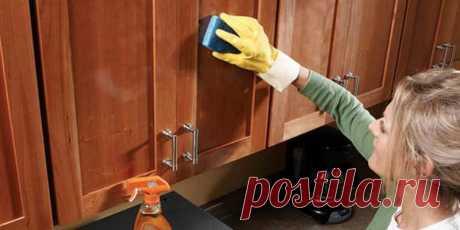 Как легко очистить кухонную мебель от жирного налета - Все обо Всем