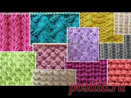 """Patterns spokes on our new channel \""""School of Knitting Our Yarn\"""""""