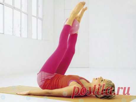Волшебные упражнения для сжигания жира на животе / Все для женщины