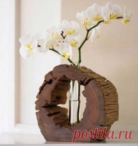 Эко-декор: украшаем комнату дарами леса