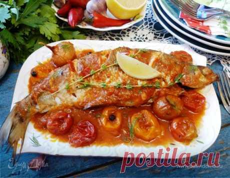 Рыба в «сумасшедшей воде» | Официальный сайт кулинарных рецептов Юлии Высоцкой