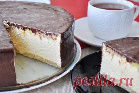 Низкокалорийный вариант торта «Птичье молоко» — Лепрекон