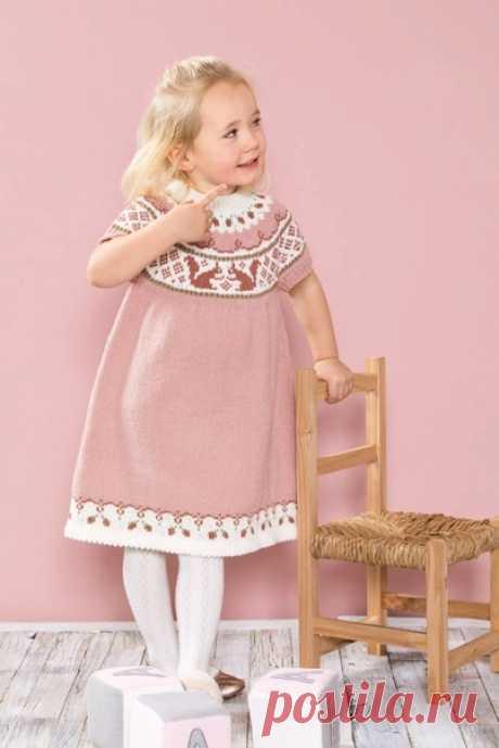 Платье для девочки РАЗМЕРЫ 6 месяцев – 6 лет