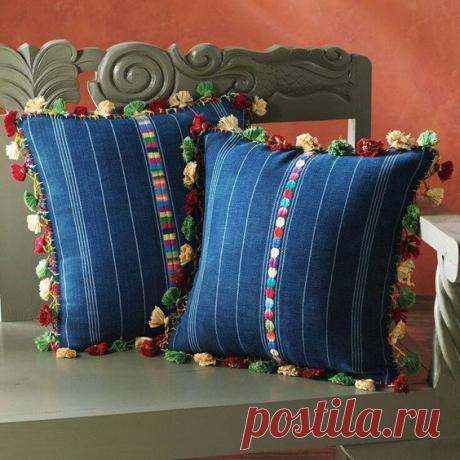 Диванные подушки - перешитые из любимых джинсов! Идеи для воплощения! | Юлия Жданова | Яндекс Дзен