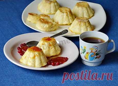 Пудинг для детей из творога рецепт с фото пошагово - 1000.menu