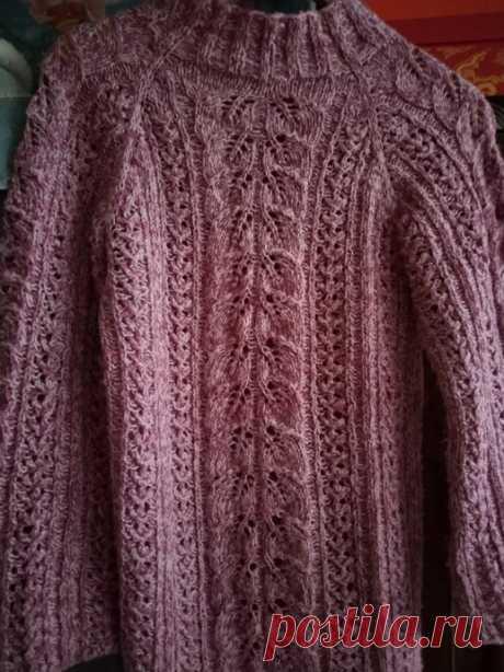 Осенний свитерок.