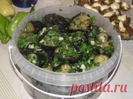 Готовим вкусно - Квасим баклажаны