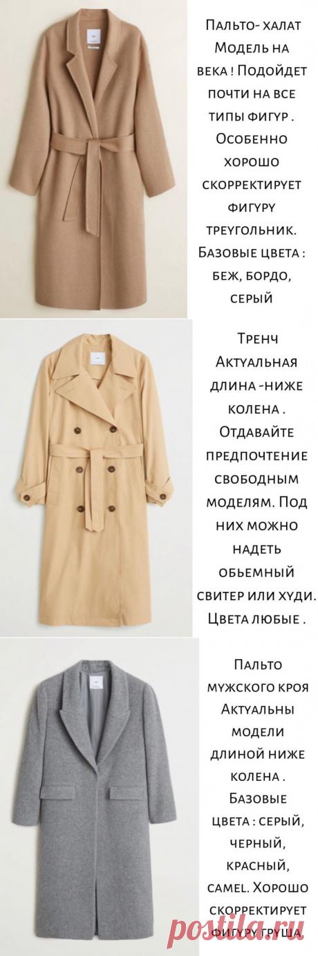 Актуальные модели верхней одежды осень-зима 2019/2020 — Красота и мода