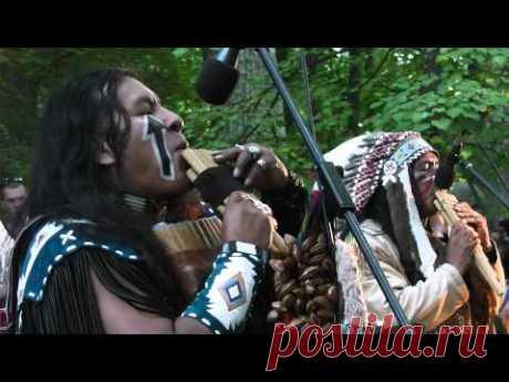 Los indios en Toyla 2013. Сhoctaw spirit